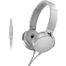 Sony Headphone With Mic MDR-XB550AP White