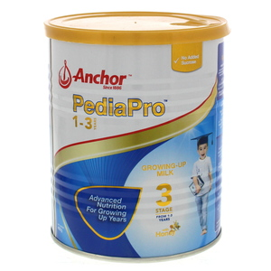 Anchor Pedia Pro Growing Up Milk Stage 3 From 1-3 Years 400g