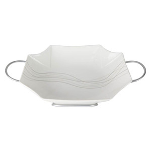 Home Ceramic Bowl 12436-9QS 13in With Stand