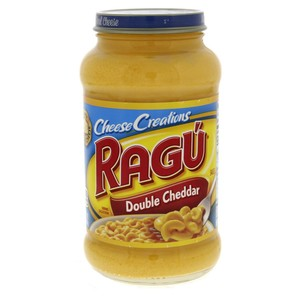 Ragu Cheese Creations Double Cheddar Sauce 453g