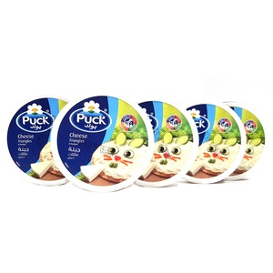 Puck Cheese Triangles 5 x 120g
