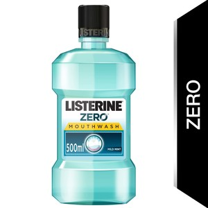 Listerine Mouthwash Zero Alcohol Mild Mint 500ml