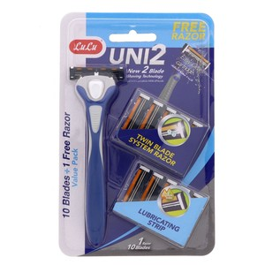 Lulu Uni2 Disposable 10 Blades + 1Razor