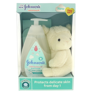 Johnsons Baby Cottontouch 500ml + Free Gift