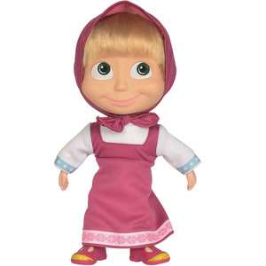 Masha and the Bear - Masha Soft Bodied Doll 23Cm 9306372
