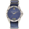 Giordano Men's Analog Watch Blue Strap With Blue Dial 1783-02