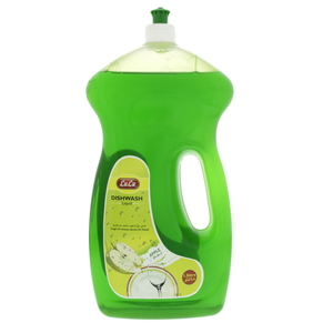 Lulu Dish Wash Liquid Economy Pack Apple 1.5Litre