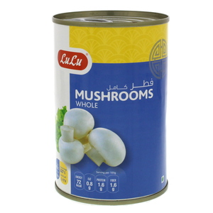 Lulu Whole Mushrooms 425g