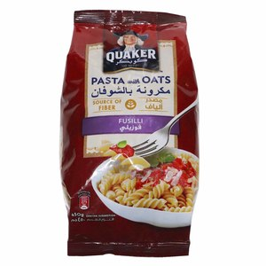 Quaker Pasta With Oats Fusilli 450g