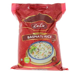 Lulu Extra Long Grain Basmati Rice 10kg