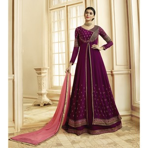 Semi Stitched Women's Anarkali Suit Zubeda Seher 14905