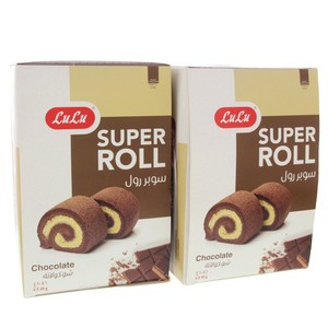 Lulu Chocolate Super Roll 360g x 2pkt