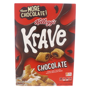 Kellogg's Krave Cereal With Chocolate 323g