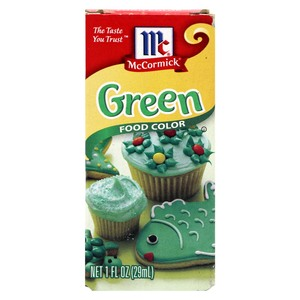 McCormick Food Color Green 29ml