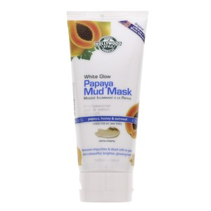 Holly Wood Style White Glow Papaya Mud Mask Extra Creamy 150ml