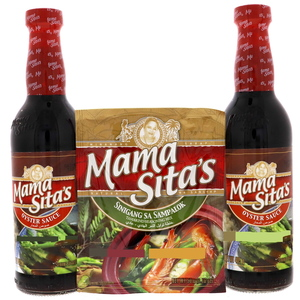 Mama Sita's Oyster Sauce 2 x 405ml + Offer