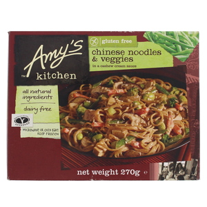 Amy's Kitchen Chinese Noodles & Veggies 270g