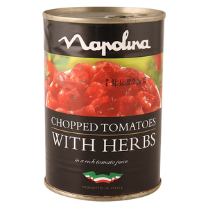 Napolina Chopped Tomatoes with Herb  400g
