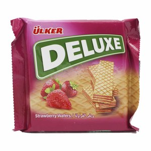 Ulker Deluxe Strawberry Wafer 40g