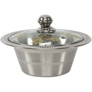 Chefline Stainless Steel Crystal Date Bowl