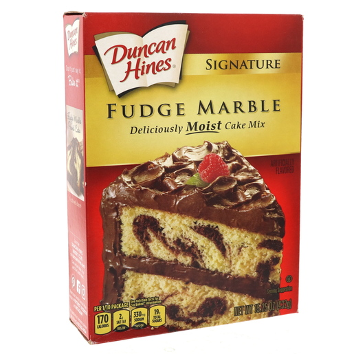 Duncan Hines Signature Fudge Marble Cake Mix 432g