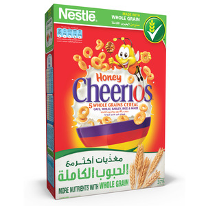 Nestle Honey Cheerios Breakfast Cereal 375 g