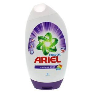 Ariel Excel Gel Colour And Style 888ml