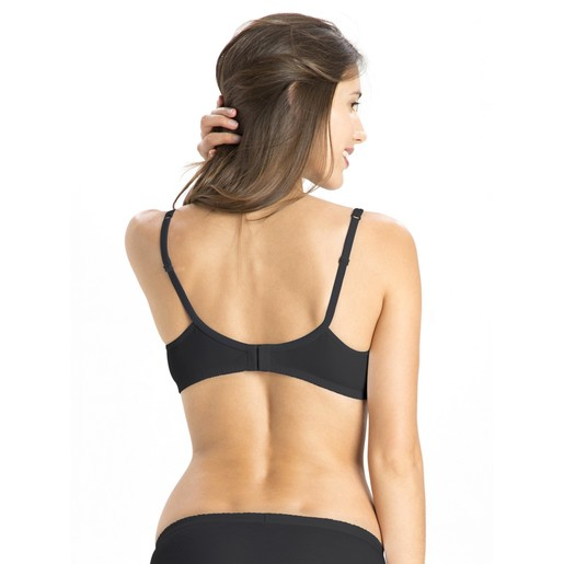 Jockey Women's Seamless Shaper Bra 1722 Black 36B