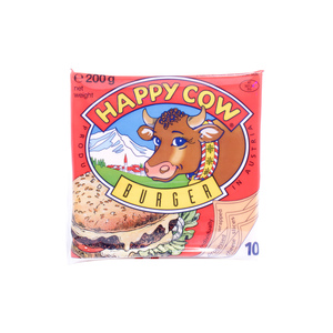 Happy Cow Burger Sliced Cheese 200g