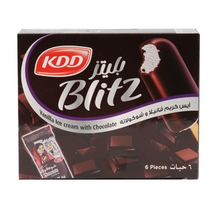 KDD Blitz Vanilla with Chocolate Ice Cream Stick 62ml