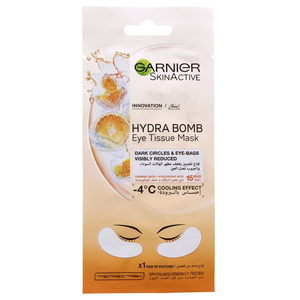 Garnier Skin Active Hydra Bomb Eye Tissue Mask 1pc