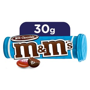 M&M'S Milk Chocolate Tube 30.6g