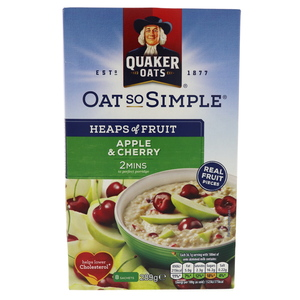 Quaker Oat So Simple Apple And Cherry 289g