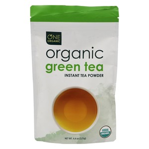 One Organic Instant Organic Green Tea Powder 125g
