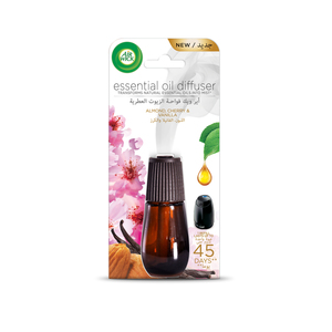 Air Wick Air Freshener Essential Oil Diffuser Refill Almond & Cherry Vanilla 20ml