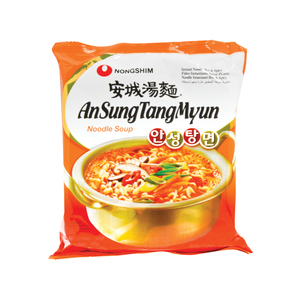 Nongshim An Sung Tang Myun Noodle Soup Hot & Spicy 125g