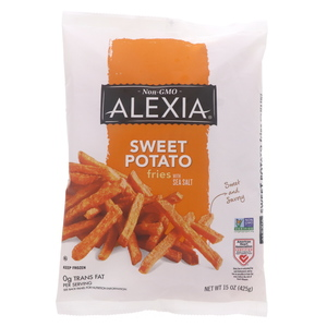 Alaxia Sweet Potato Fries With Sea Salt 425g