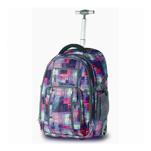 "Wagon R Laptop Backpack Trolley 3005-4 22"" Assorted"