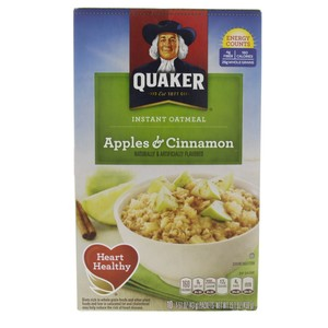Quaker Instant Oatmeal Apples And Cinnamom 430g