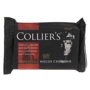 Collier's Welsh Cheddar 350g