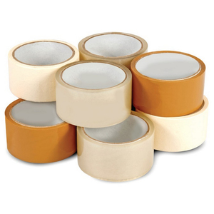 Packing Tape Clear 4 Piece+ Brown 4Piece+Masking Tape 2Piece