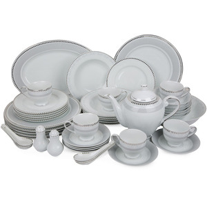 Pearl noire Dinner Set 48pcs