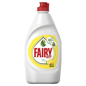 Fairy Dishwashing Liquid Lemon 450ml