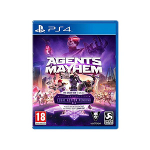 PS4 Agents Of Mayhem Day1 Edition
