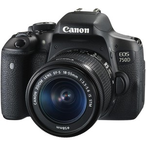 Canon DSLR Camera EOS750D 18-55mm lens