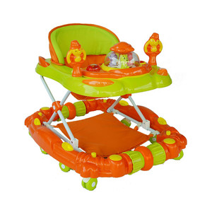 First Step Baby Walker K-715 Orange
