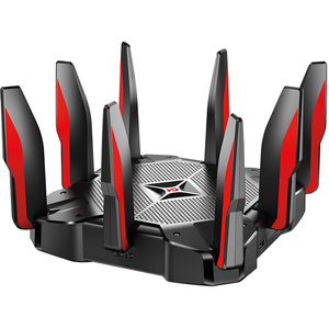 TP-Link AC5400 MU-MIMO Tri-Band Wi-Fi Router with Comprehensive Network for Gaming and Entertainment
