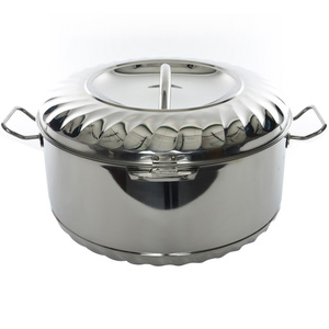 Chefline Stainless Steel Hot Pot Solitaire 1000ml