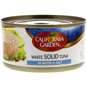 California Garden White Solid Tuna In Water & Salt 185g