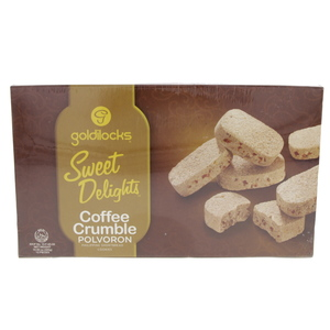Goldilocks Sweet Delights Coffee Crumble Polvoron 300g